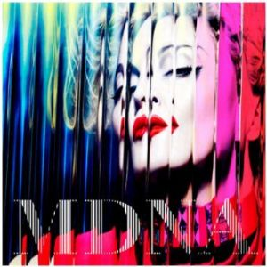 MDNA - OFFICIAL 2012 ALBUM PROMO POSTER